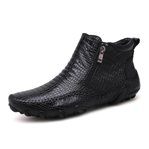 New Male fashion outdoor Martin Chelsea Ankle Boots
