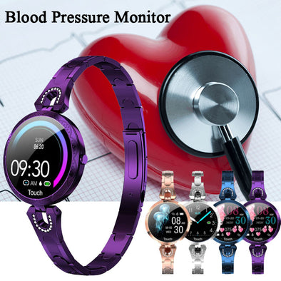 Women Fitness bracelet Heart Rate tracker Monitor Smart watch