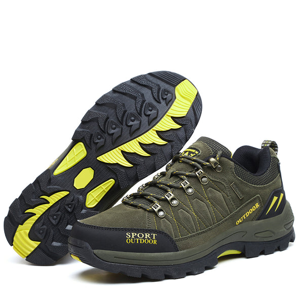 Men Outdoor Hard-Wearing Walking Footwear Men Non-Slip Mens Mountain Boots