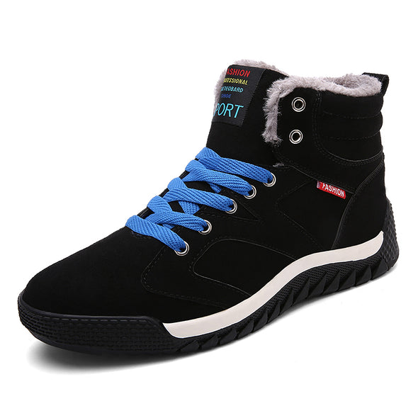 Fashion Warm Shoes With  Casual Boots Ankle Footwear