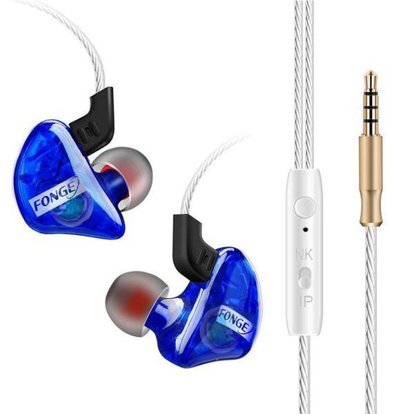 Earphones & Headphones - Running-Stereo-Earphone-With-Microphone