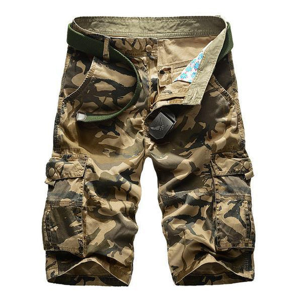 Shorts - 2017 New Mens Camouflage Camo Cargo Shorts