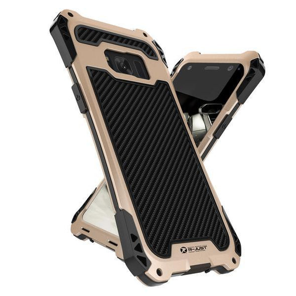 Phone Case - Luxury Metal Aluminum Armor Waterproof Shockproof Phone Case For Samsung