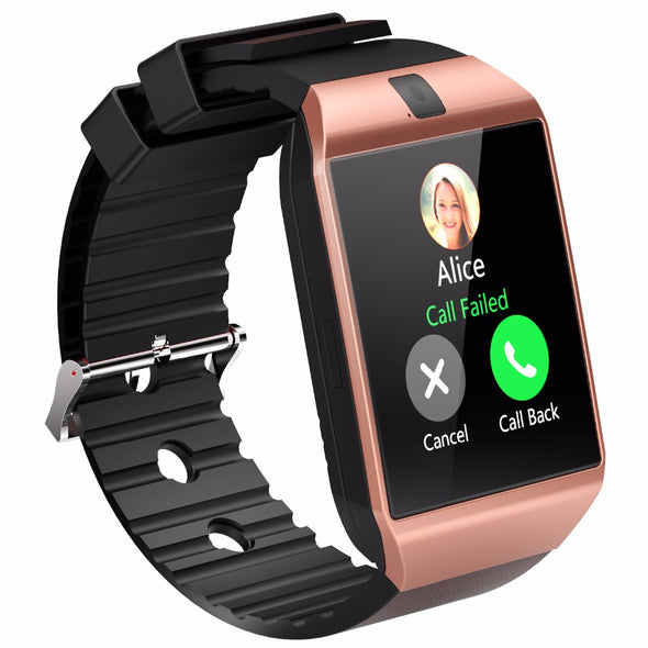 Bluetooth Relogio Android Smartwatch Phone Call SIM TF Camera