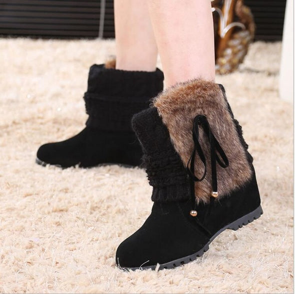 New Style Fashion Women Warm Ankle Boots