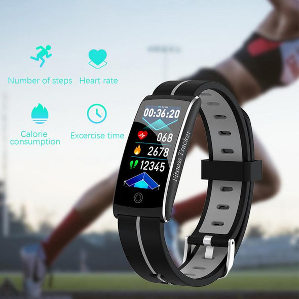 Fashion Smart Bracelet Heart Rate Blood Pressure Calories Monitor