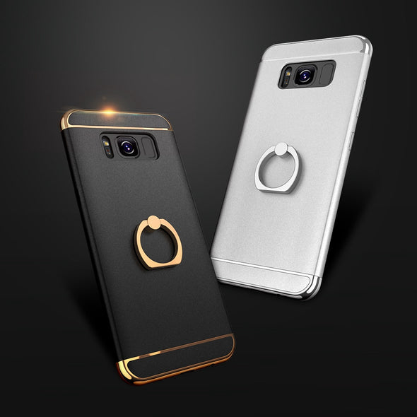 Shockproof Armor Ring Holder Phone Case For Samsung S8 S8 plus