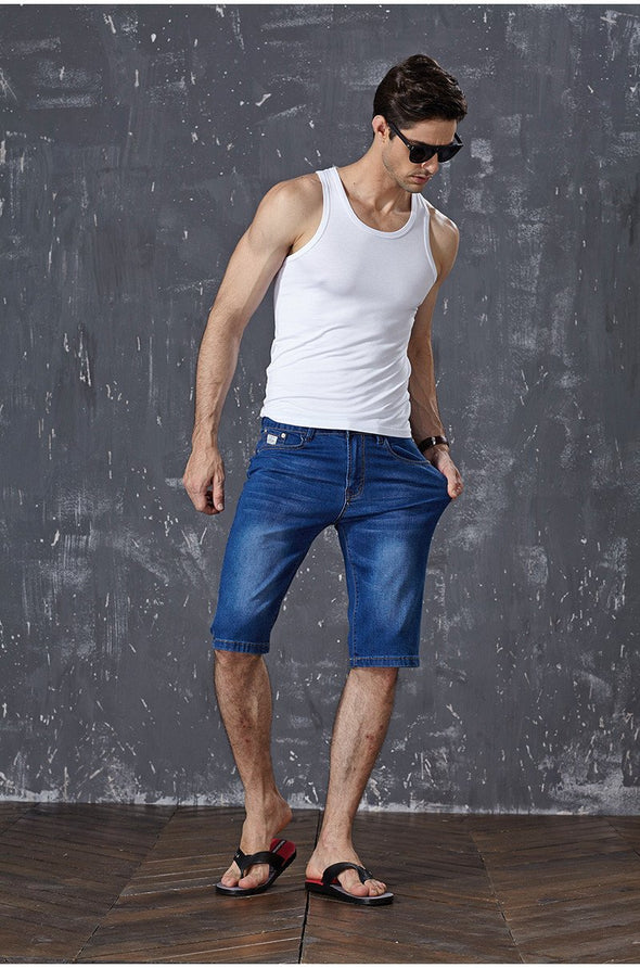 Shorts - Men Casual Stretch