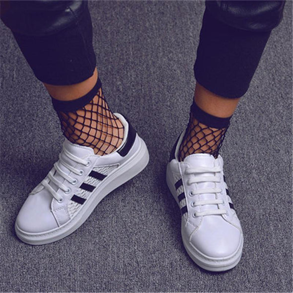 Socks - Girls Breathable Mesh Fishnet Socks