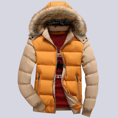 New Arrival 9-Color Fashion Down Jacket  Hood Hat 4XL