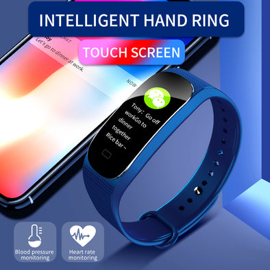 M5 Smart Bracelet Fitness Tracker Heart Rate Sleep monitoring Blood pressure pedometer