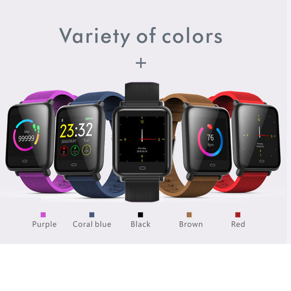 Q9 Heart Rate Monitor Smart Watch Fitness Trakcer