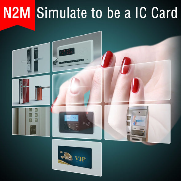 N2 Smart Nail New Of Intelligent Accessories No Charge Required New NFC Smart Wearable
