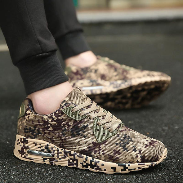 Athletic Zapatillas Outdoor Camouflage Trainer Shoes