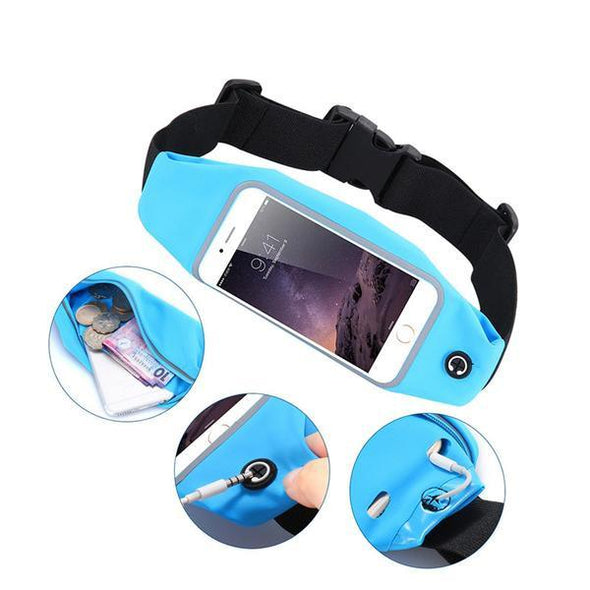 Sports & Outdoors - Universal Running Waist Bag