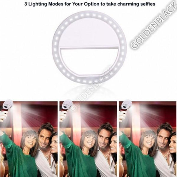 Flash 36 LED Photographic Lighting Dimmable Camera for iphone 7/ Samsung
