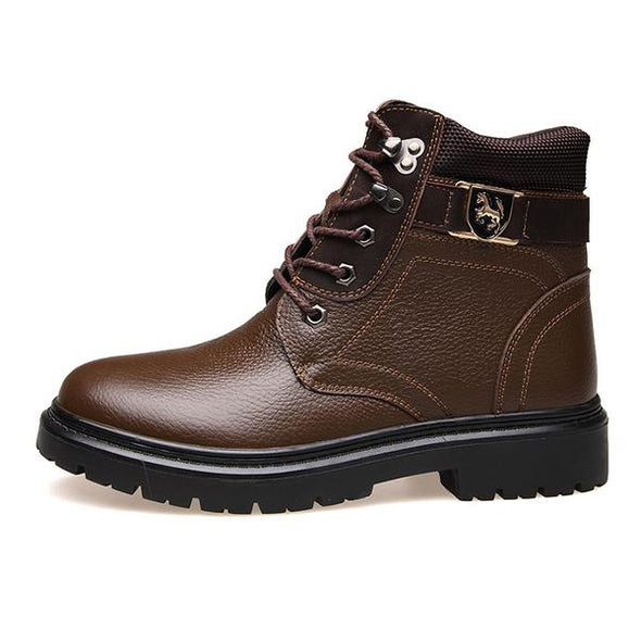 Fashion Warm  High-Top Men's Boots