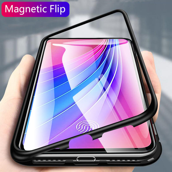 Magnetic Adsorption Metal Case For Samsung