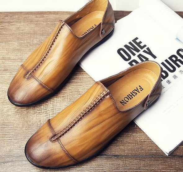Casual Split Oxford Flats Shoes