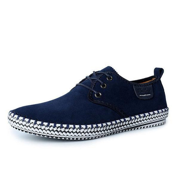 Mens Leisure Flat Oxford Shoes