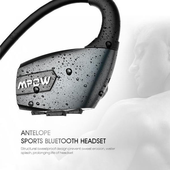 New Noise Reduction Wireless Bluetooth 4.1-Sports Headphone