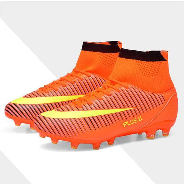Shoes - Men's Outdoor Soccer Cleats Shoes High top Football Sneakers