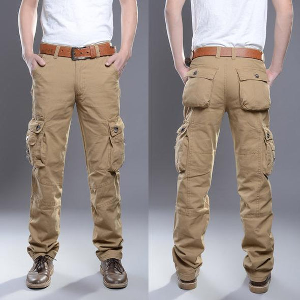 Pants - New Fashion Men Multi-Pockets Pants