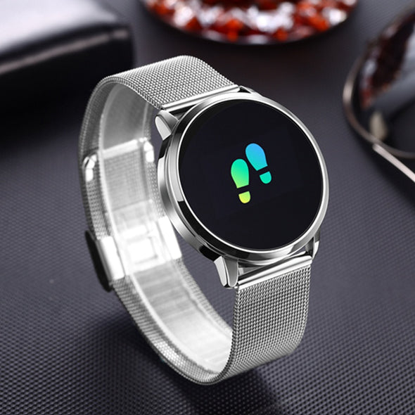Fitness Tracker Smart Watch Bracelet Heart Rate Blood Pressure Monitor
