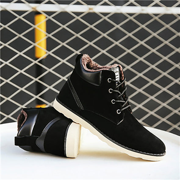 Outdoor High Tops Cotton Antiskid Bottom Shoes
