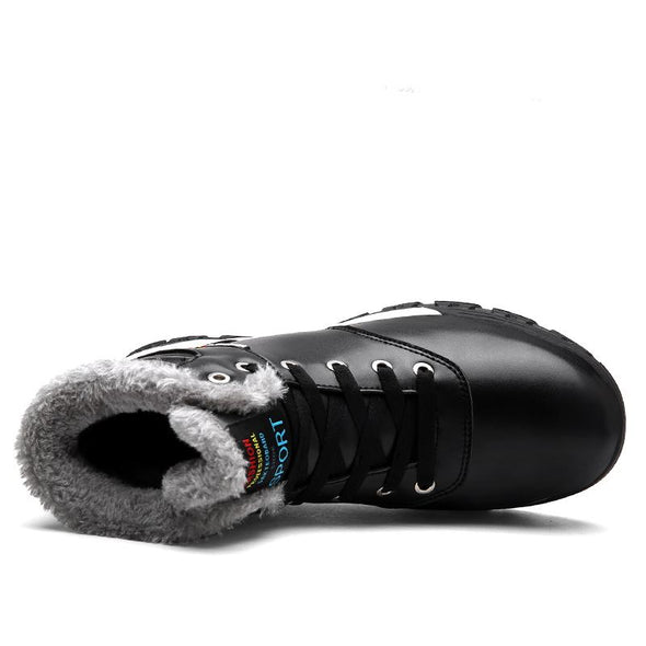 Big Size Plus velvet Warm Waterproof Snow Shoes