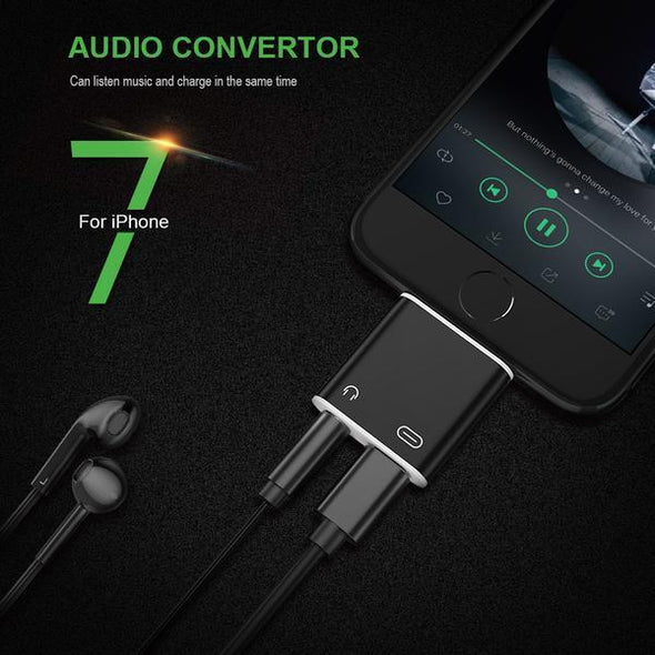 Consumer Electronics - 2 in 1 Earphone Data Charger