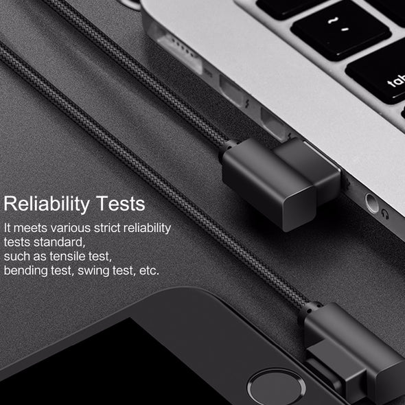90 Degree USB Cable For lightning Cable Fast Charging Data Cables for iphone