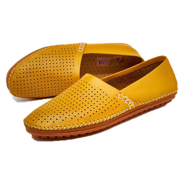 Genuine  Men's Loafers Large Size