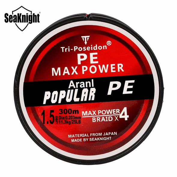 TriPoseidon Series PE Braided 4 Stands Multifilament Fishing Line