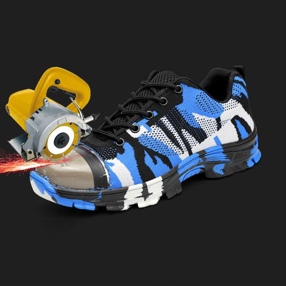 Smash and piercing safety protective shoes