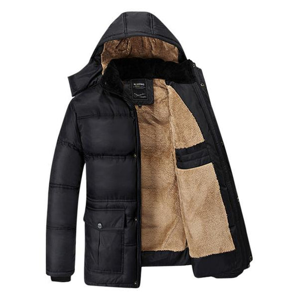 Men's Clothing - New Arrival Cotton Comfortable Plus Size Coat