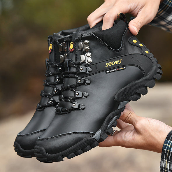Men Casual Shoes Breathable Men Boot