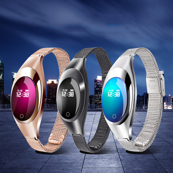 Fashion Smart Watch With Blood Pressure Heart Rate Monitor