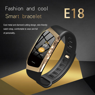Colorful Fitness Tracker Blood Pressure Watch Heart Rate Monitor Sport Bracelet