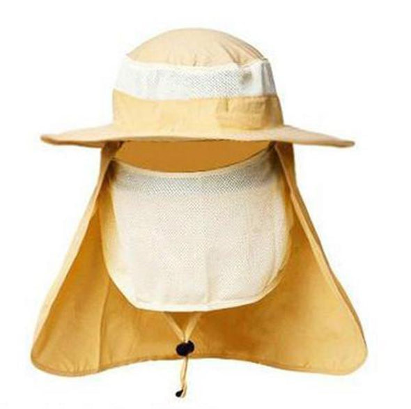 Hats - Unisex Large Round Brim Quick-Dry Sun Hats Fishing Cap