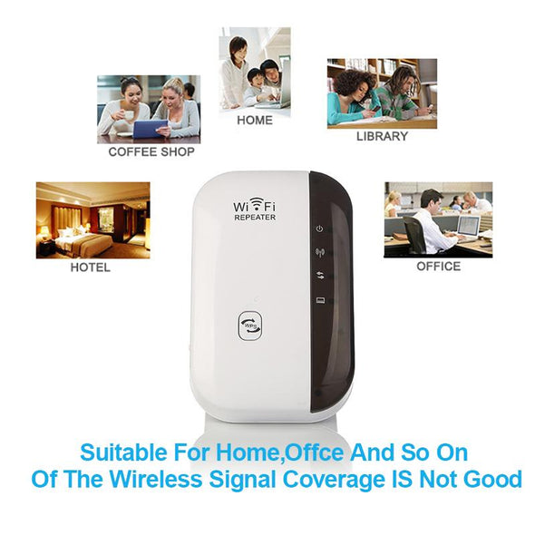 Wireless WiFi Repeater Signal Amplifier