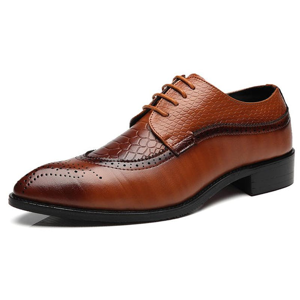 British Style Men Classic Business Formal Shoes