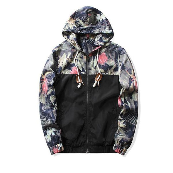 Hip Hop Men's Hooded Jackets