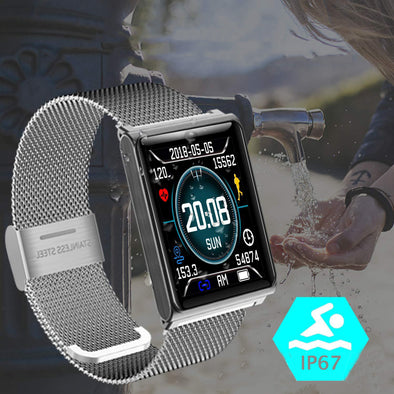 Color Smart Watch Waterproof Smart bracelet Blood Pressure Heart Rate