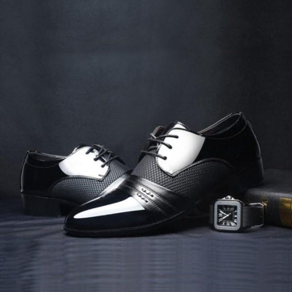 Shoes - Luxury Brand Classic Oxford Men's Flats Shoes