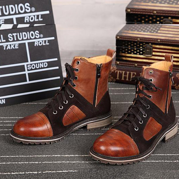 Big Size High Quality Men Roman Style Boots