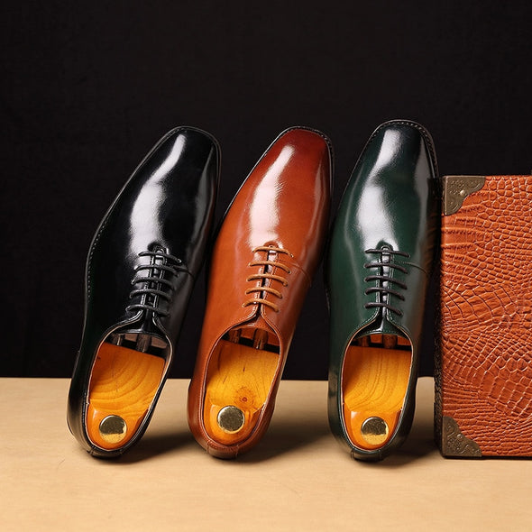 New Fashion Plus Size Men Oxford PU Leather Shoes
