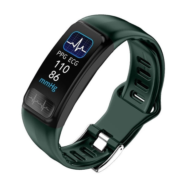ECG PPG Health Sports IP67 Waterproof Heart Rate Blood Pressure Fitness Tracker Smartwatch