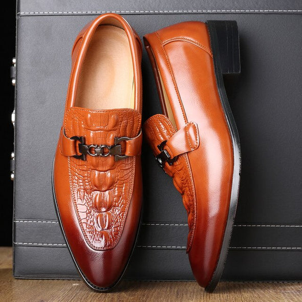 2020 Luxury Men Leather Wedding Party Shoes