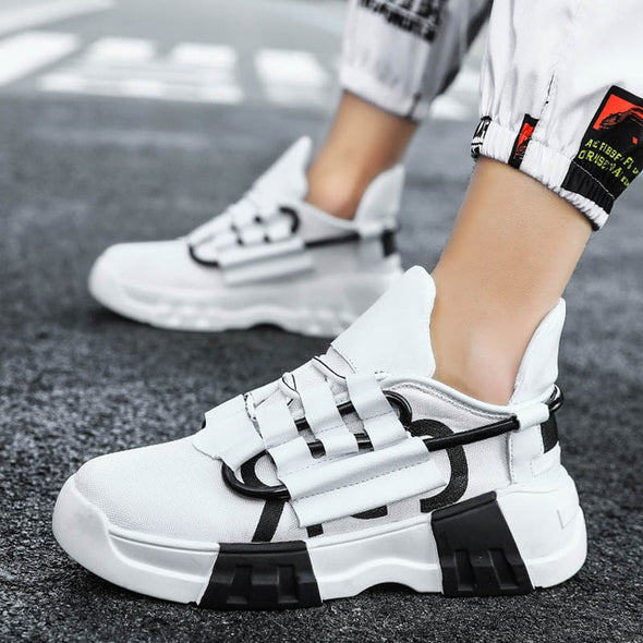 Newest Men Thick Sole Platform Sneakers